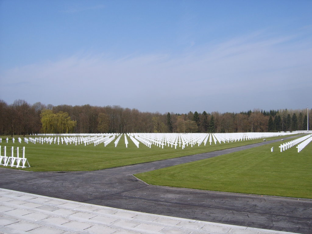 The Ardennes American Cemetery and Memorial, Neupré © Bel Adone, wiki commons