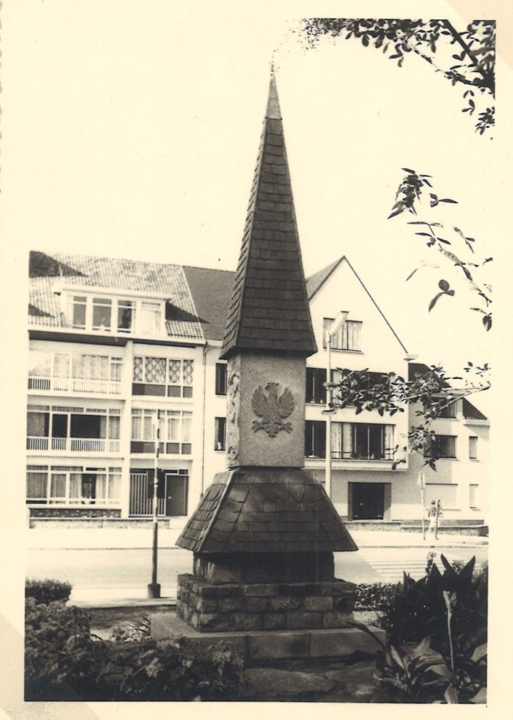 Monument of the 1st Armoured Division